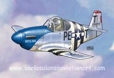 P-51B Mustang 'Pattie Ann', 1st Lt. John F Thornell Jr., 8th Air Force, June 6, 1944