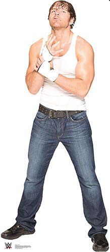 Dean Ambrose - WWE Lifesize Cardboard Cutoutgsuqadcnuj hjbdgghuyfvvbv