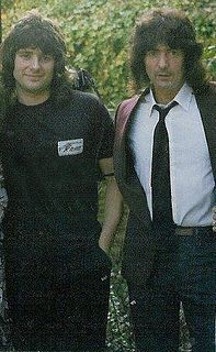 Ritchie Blackmore & Jurgen Blackmore (son from first marriage to Margit)