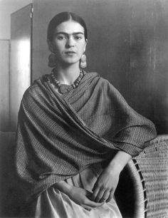 Portrait of the Artist Frida Kahlo, 1931, by Imogen Cunningham