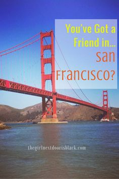 """Making friends in a new city can be tough - especially in San Francisco. 