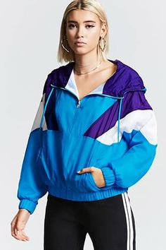 Colorblock Hooded Windbreaker Jetzt bestellen unter: https://mode.ladendirekt.de/damen/bekleidung/jacken/windbreaker/?uid=3a4f4f7c-8264-5ead-8f9e-88fdd75cfdf9&utm_source=pinterest&utm_medium=pin&utm_campaign=boards #women's #windbreaker #accessories #clothing #outerwear #bekleidung #jacken Bild Quelle: forever21.com
