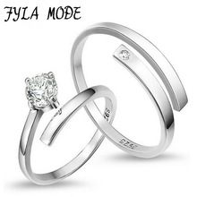 Get The Latest Fashion Jewelry  Fyla Mode 1 Pair=2pcs 925 Sterling Silver Ring Jewelry Engagement Zircon Wedding Lovers Couple Rings for Women Men YH005     Buy Jewelry At Wholesale Prices!     FREE Shipping Worldwide     Get it here ---> http://jewelry-steals.com/products/fyla-mode-1-pair2pcs-925-sterling-silver-ring-jewelry-engagement-zircon-wedding-lovers-couple-rings-for-women-men-yh005/    #earrings