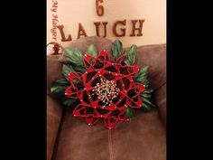 Tutorial on how to build a Poinsettia/ Wreath out of plastic clothes hangers Christmas To Do List, Dollar Tree Christmas, Winter Christmas, Christmas Wreaths, Christmas Crafts, Christmas Decorations, Christmas Ideas, Xmas, Holiday