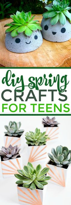 DIY Spring Crafts for Teens - A Little Craft In Your Day