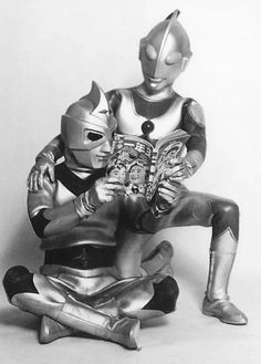 Ultraman reading time.