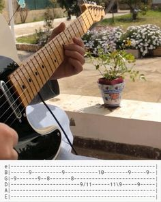 Guitar Tabs And Chords, Music Theory Guitar, Guitar Chords Beginner, Guitar Chords For Songs, Guitar Solo, Music Guitar, Guitar Lessons, Guitar Songs For Beginners, Guitar Riffs