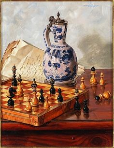 View Chessboard By Oswald Eichinger; Access more artwork lots and estimated & realized auction prices on MutualArt. Marc Chagall, History Of Photography, Table Games, Auction, Bronze, Artwork, Painting, Art, Board Games