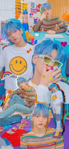 Kids Wallpaper, Iphone Wallpaper, Blue Hour, Indie Kids, Kpop Aesthetic, Foto Bts, Kpop Boy, K Pop, Boyfriend Material