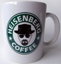 Caneca Breaking Bad Heisenberg Coffee - Mod. 6