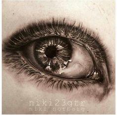 Eye tattoo! Niki Norberg
