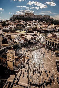 VISIT GREECE| Athens, Monastiraki #citybreaks #destinations #travel