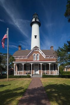 """One of Georgia's """"Golden Isles,"""" this island was voted the most romantic town and favorite beach town by Travel + Leisure Magazine in 2014."""