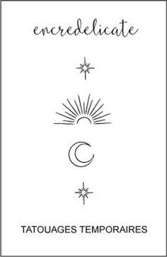 Moon Sun Star Tattoo, Star Tattoo Meaning, Half Moon Tattoo, Sun And Moon Tattos, La Luna Tattoo, Tattoo Stars, Tattoo Sun, Sun Moon Stars, Sun And Stars
