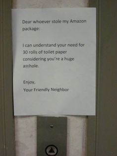 #FriendlyNeighbourNotes