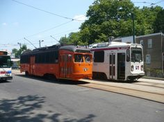 2194 Work Car  At 63rd and Malvern loop. Photo by Daryl Jackson
