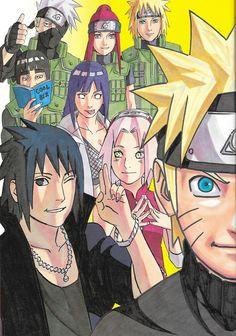Masashi Kishimoto, Naruto, Sakura Haruno, Minato Namikaze, Naruto Uzumaki
