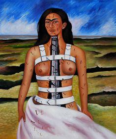 Frida Kahlo - The Broken Column #arte