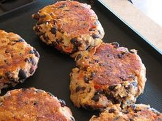 I started making black bean burgers quite a few years ago when we were living on a very tight budget. They are cheap to make because they are meatless. I continue to make them because they are frugal but also because they are healthy, quick and easy, and good.