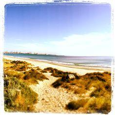 Playa de El Saler en El Saler, Valencia. - http://sixt.info/Valencia-pinterest - #Naturaleza #playa #Valencia