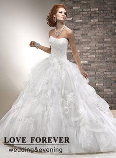 lace corset ball gown wedding dress 17pLTKh9