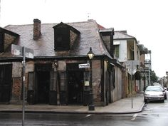 La Fitte's Bar, in New Orleans. The Oldest bar in the country. Established 1776, still haunted :)