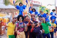 Unforgettable happy times at Porto Cairo Mall with the Fiesta De Buenos Aires from Brazil. #LetsPorto