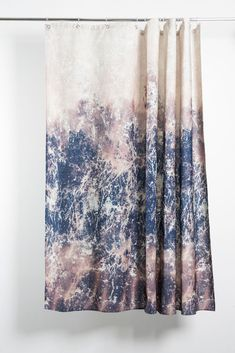 Stormclouds Artist Cotton Shower Curtain ( Waterproof ) by Carmen Boog Shower Curtains, Artist At Work, Textile Design, Fascinator, Panama, In This Moment, Luxury, Fabric, Prints