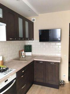 Ideas For Bathroom Vanity Corner Decor Kitchen Cabinet Design, Interior Design Kitchen, Kitchen Decor, Kitchen Cabinets, Island Kitchen, Clever Kitchen Ideas, Small Kitchen Redo, Small Kitchens, Small Apartment Interior