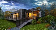 дом на склоне (De Aleksandr Zhydkov architect)