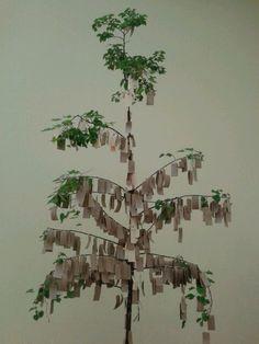 Yoko Ono, Wish Piece (1996) Do It Exhibition at Manchester Art Gallery, 2013.