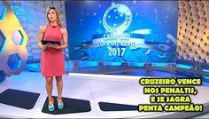 Matéria Globo Esporte - Cruzeiro x Flamengo Final da Copa do Brasil 2017 (HD)