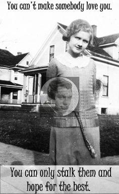 Funny Vintage Make Someone Love You Magnet by SnarkyMagnets, $4.00