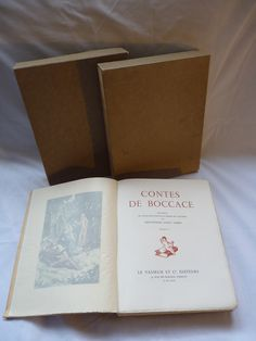 Les contes de boccace via ANTIQUE MARCBEA. Click on the image to see more!