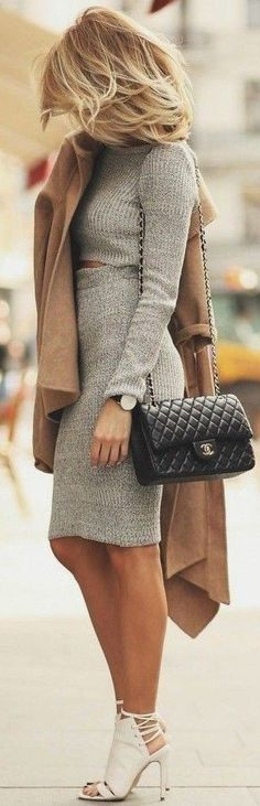 Team it up with different apparel with same coat and your innumerable casual camel coat outfit ideas with different looks are ready! Casual Winter Outfits, Fall Outfits, Outfit Winter, Dress Winter, Summer Outfit, Casual Wear, Casual Attire, Dress Casual, Coat Outfit