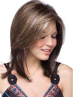 Straight Short to Medium Length Hair