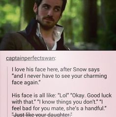 But Hook still loves Emma and Charming still loves Snow! They may be a handful, but their love for the girls can withstand anything.