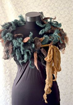Scarf Autumn Forest by irinacarmen on Etsy, $65.00