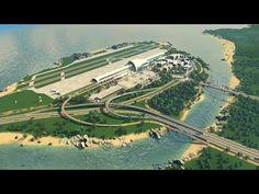 Cities Skylines RockField - Costruzione Aeroporto - Parte 1 - YouTube