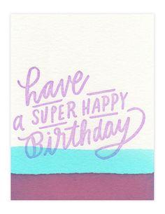 Super Happy Birthday