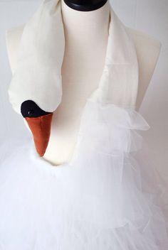 Bjork Swan Dress Costume Tutorial - A Beautiful Mess