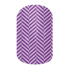 Purple Herringbone Jamberry Nails Wraps. Lasts up to 2 weeks on fingernails and 4 weeks on toenails. Buy it here: http://easycutenails.jamberrynails.net/home/ProductDetail.aspx?id=1558#.UtYCD7TWvCQ