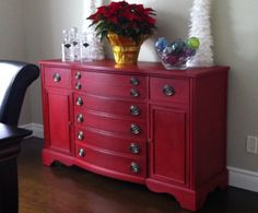 Beau A Fabulous Buffet Painted In Emperoru0027s Silk And Dark Waxed. Love How My  Sister Effie