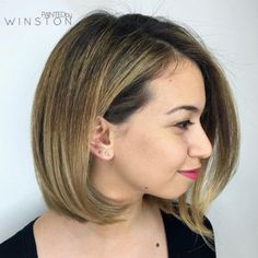 Bob Hairstyle For A Chubby Face # short hair styles for round faces chubby Top 60 Flattering Hairstyles for Round Faces Short Hair For Chubby Faces, Chubby Face Haircuts, Hairstyle For Chubby Face, Bobs For Round Faces, Bob Hairstyles For Round Face, Short Hair Styles For Round Faces, Cool Haircuts, Medium Hair Styles, Cool Hairstyles