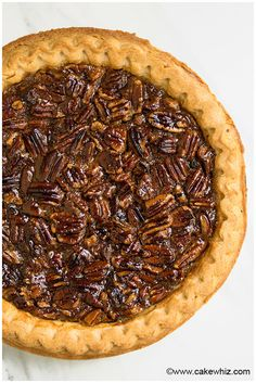 Easy Pecan Pie Recipe - CakeWhiz