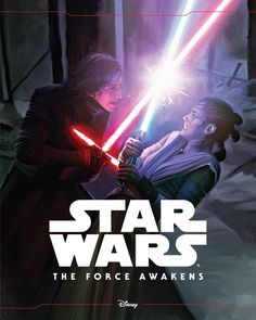 NEW STAR WARS: THE FORCE AWAKENS BOOK FEATURES REY AND KYLO REN!