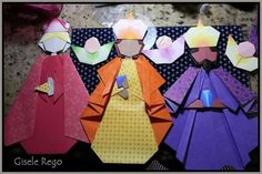 Reis Magos Puppet Making, Sunday School Crafts, Wise Men, Epiphany, Art School, Origami, Christmas, Paper, Green Rooms