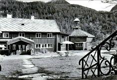 Oppland fylke Lom kommune Elvesæter Turisthotell Bøverdalen Utg Normann 1950-tallet