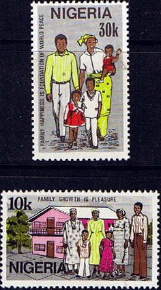 Nigeria 1983 Family Day Fine Mint Other Nigerian Stamps HERE