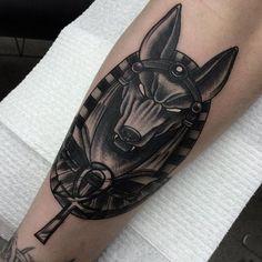 16 Symbolic Anubis Tattoos Mais
